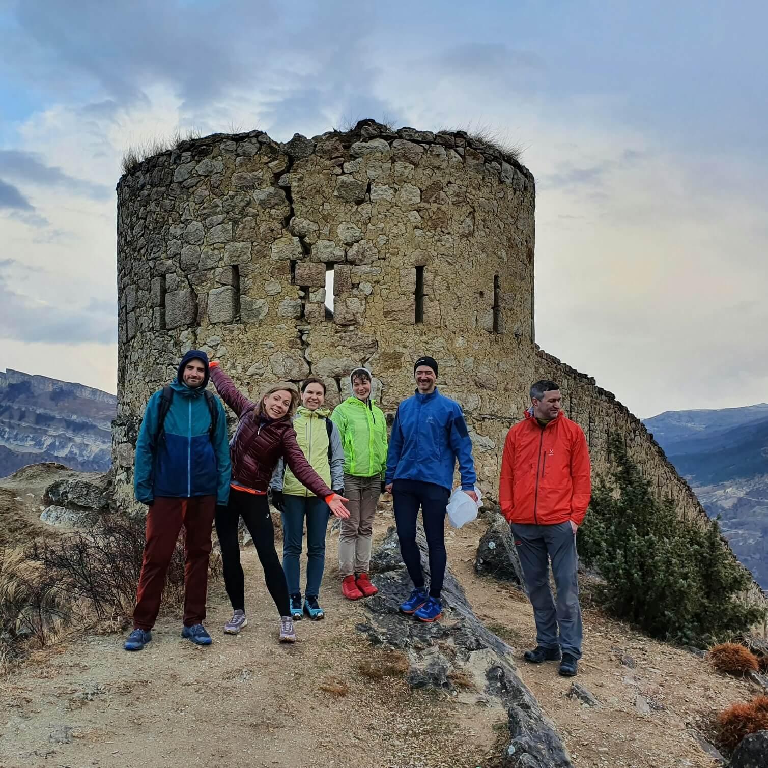 Крепость в Гунибе
