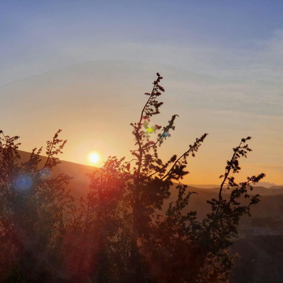 восход в Гунибе