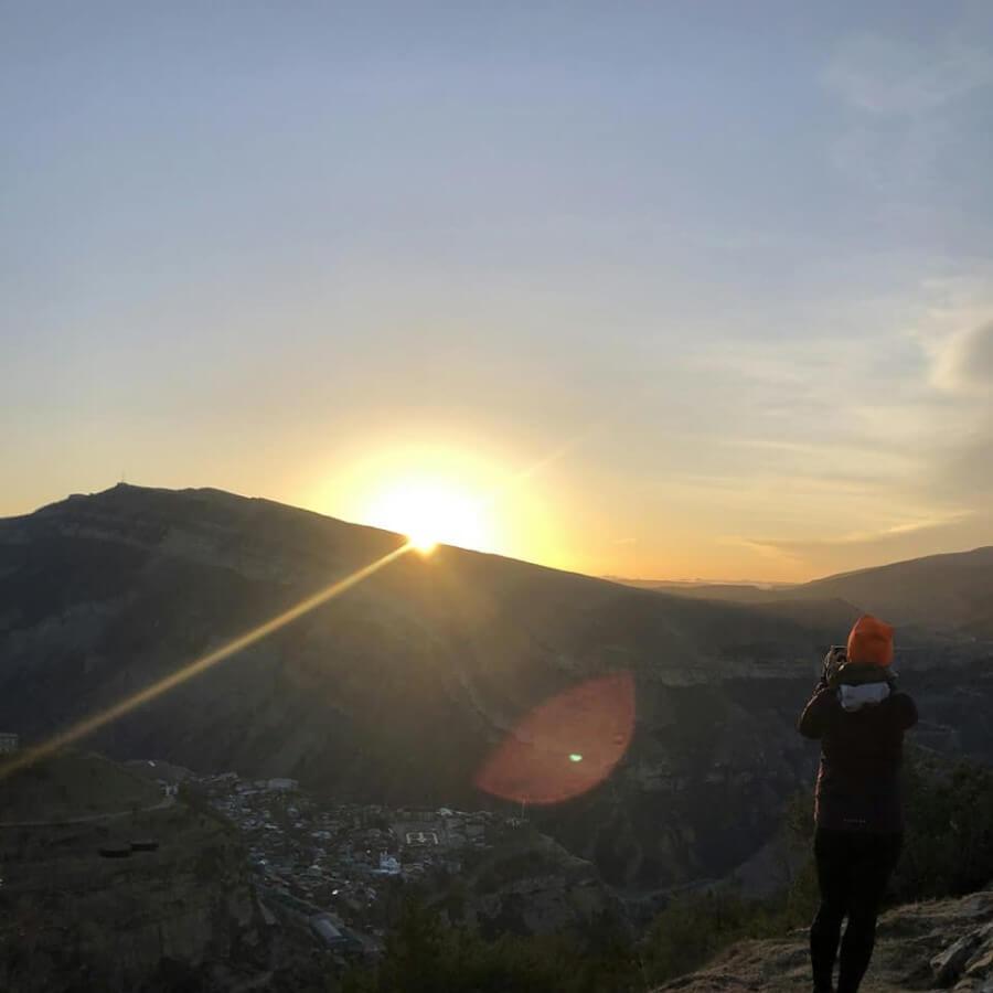 Рассвет в Дагестане
