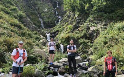 Hoka Wild Trail Camp день 9. Ачипсинсие водопады и гора Ачишхо